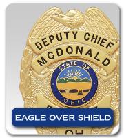EAGLE OVER SHIELD