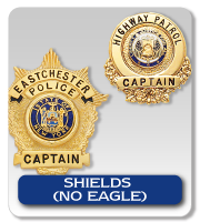 MINI SHIELDS- NO EAGLE