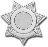 7 Point Star Smith & Warren Family Badge FB43