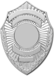 Shield Smith & Warren Custom Badge S115