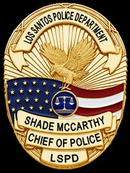 Laquite,Riadyn's SAPD Application Badge