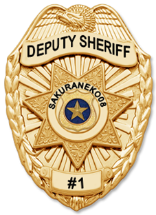 badge.aspx?badge=S89S_S249D&base=gold&textfont=BLOCK&textcolor=BLACK&text1=DEPUTY%20SHERIFF&text2=SAKURANEKO08&text3=&text4=&text5=%231&text6=&seal=C630E&textsep=NONE