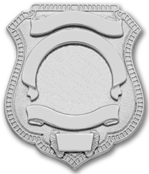 2.5 inch Shield Smith & Warren Badge S96EO