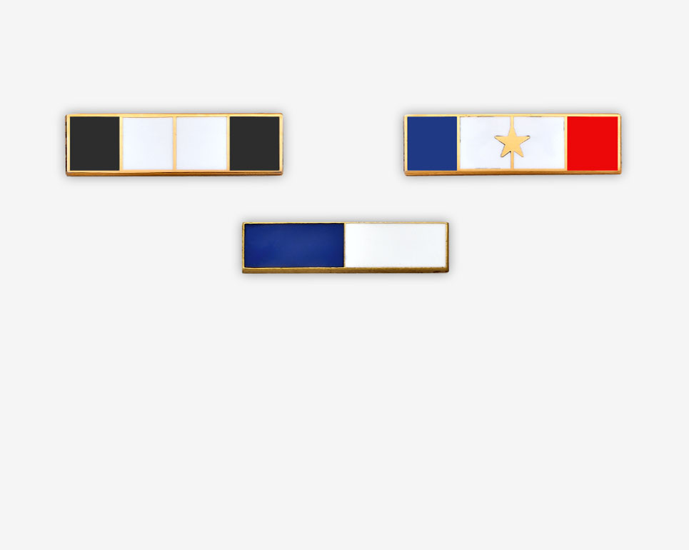 COMMENDATION BARS