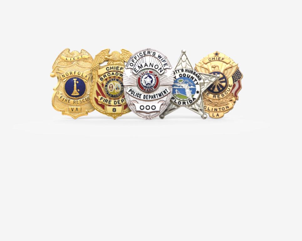 Visual Badge Builder - Chief Supply